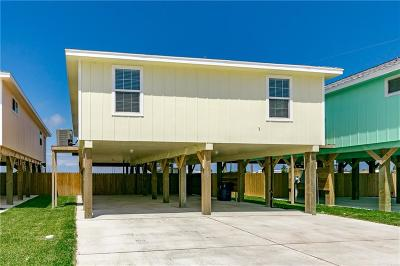 Port Aransas Single Family Home For Sale: 102 Glover Blvd