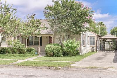 Corpus Christi Single Family Home For Sale: 326 Sunset Ave