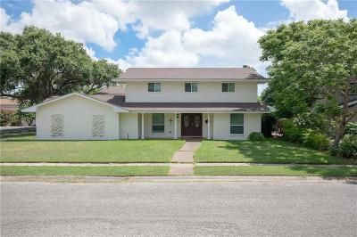 Corpus Christi Single Family Home For Sale: 4502 Bluefield Dr