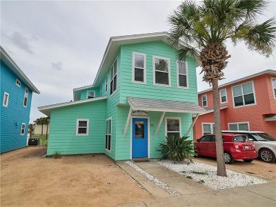 Port Aransas Condo/Townhouse For Sale: 2606 S 11th St #19