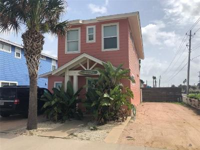 Port Aransas Single Family Home For Sale: 2606 S 11th #2