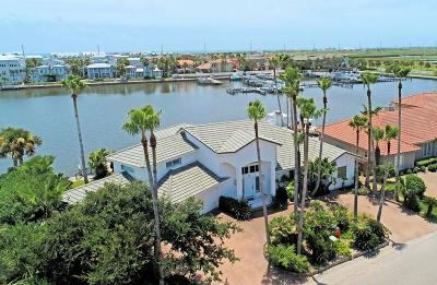 Port Aransas Single Family Home For Sale: 310 Marina Dr