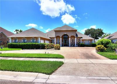 Corpus Christi Single Family Home For Sale: 8029 Villefranche Dr