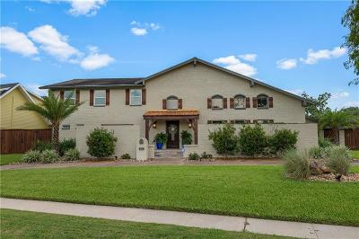 Corpus Christi Single Family Home For Sale: 6017 Broadmoor Dr