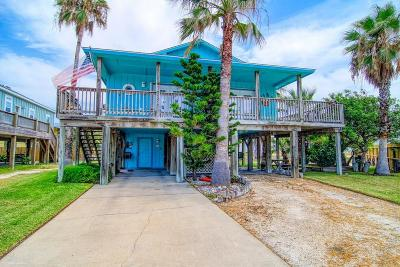 Port Aransas Single Family Home For Sale: 614 Dolphin Circ
