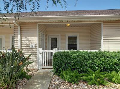 Corpus Christi Condo/Townhouse For Sale: 15209 S Padre Island #305