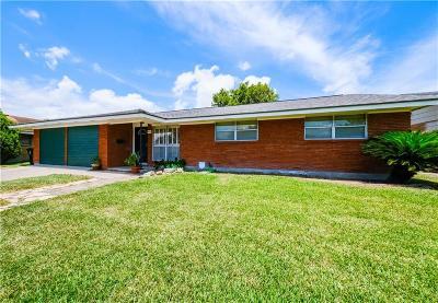 Corpus Christi Single Family Home For Sale: 4114 Dublin Dr