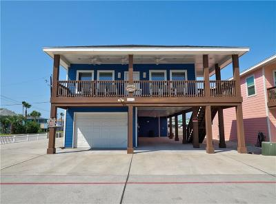 Port Aransas Single Family Home For Sale: 1900 S Eleventh St #8