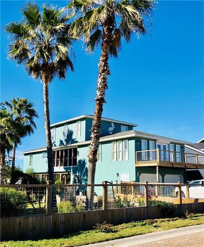 Port Aransas Single Family Home For Sale: 315 Laurel St