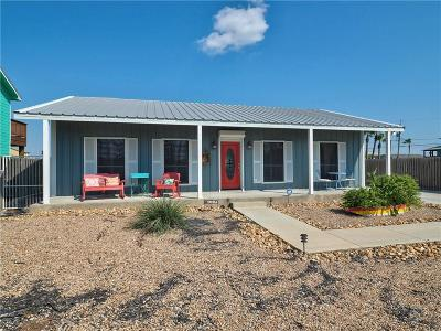 Port Aransas Single Family Home For Sale: 114 S Gulf St