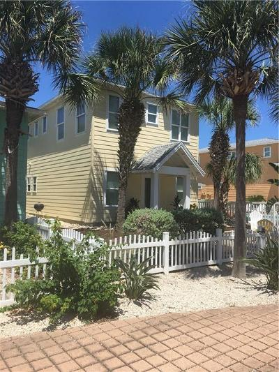 Port Aransas Condo/Townhouse For Sale: 2525 S 11th St #25