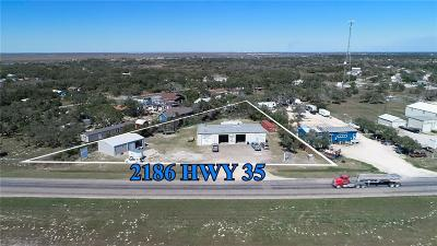 Aransas Pass Commercial For Sale: 2186 Highway 35