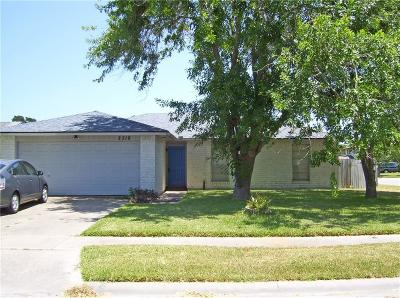 Corpus Christi Single Family Home For Sale: 2318 Berens Ct
