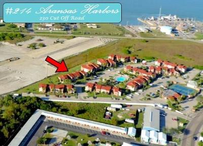 Port Aransas Condo/Townhouse For Sale: 230 Cut Off #214