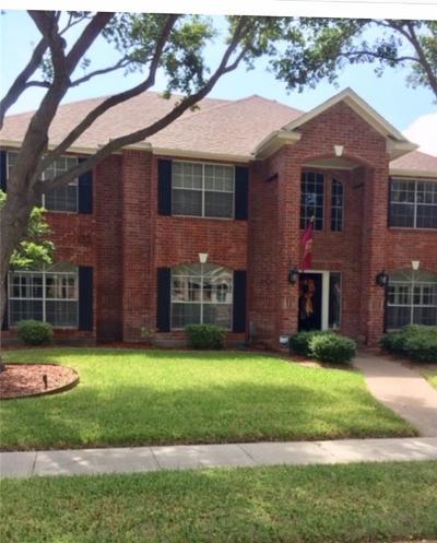 Corpus Christi Single Family Home For Sale: 7602 Dijon Lake Dr