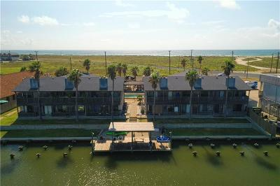 Corpus Christi Condo/Townhouse For Sale: 15225 Leeward Dr #A5