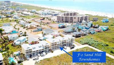 Port Aransas Condo/Townhouse For Sale: 1833 S 11th St #F-2