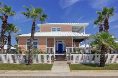 Port Aransas Single Family Home For Sale: 243 Beachwalk