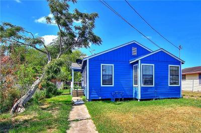 Corpus Christi Single Family Home For Sale: 119 Edwards St