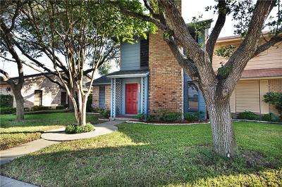 Corpus Christi Condo/Townhouse For Sale: 6630 Long Meadow Unit A Dr
