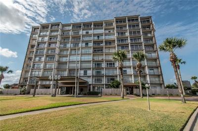 Corpus Christi Condo/Townhouse For Sale: 4600 Ocean Dr #807