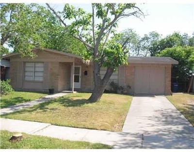 Corpus Christi Single Family Home For Sale: 6023 Norvel Dr