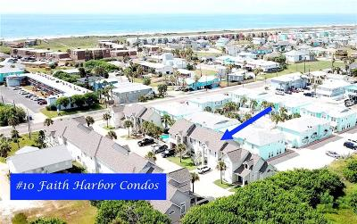 Port Aransas Condo/Townhouse For Sale: 2026 S 11th St #10