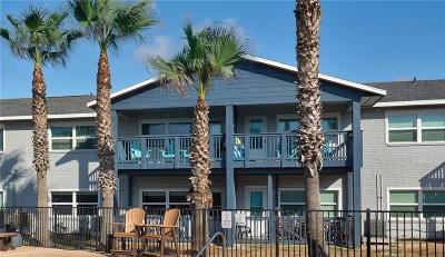 Port Aransas Condo/Townhouse For Sale: 1129 S 11th St #9