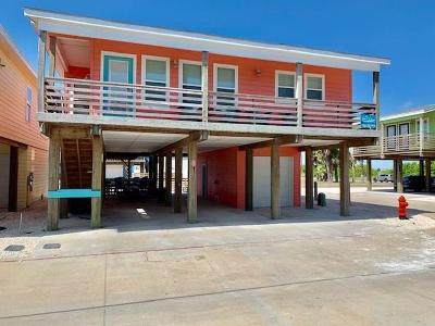 Port Aransas TX Single Family Home For Sale: $485,000