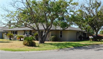 Aransas Pass Single Family Home For Sale: 1505 Kenwood Dr