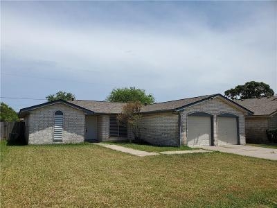 Corpus Christi TX Single Family Home For Sale: $139,000