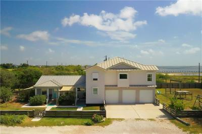 Corpus Christi Single Family Home For Sale: 2233 Laguna Shores Road