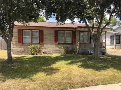 Corpus Christi TX Single Family Home For Sale: $124,900