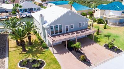 Aransas Pass Single Family Home For Sale: 128 Bay Harbor Dr