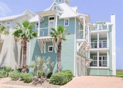 Port Aransas Single Family Home For Sale: 214 Seaside Dr