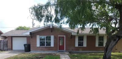 Corpus Christi Single Family Home For Sale: 6242 Hanley Dr