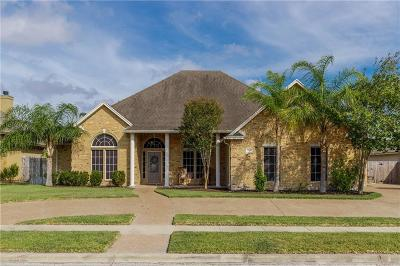 Corpus Christi Single Family Home For Sale: 7614 Beau Terre