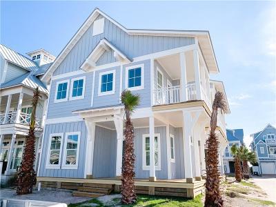 Port Aransas Single Family Home For Sale: 112 Center Ln.