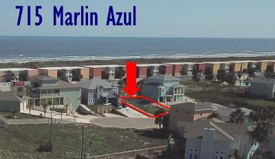 Port Aransas Residential Lots & Land For Sale: 715 Marlin Azul