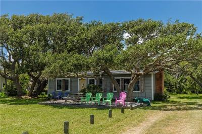 Rockport Single Family Home For Sale: 1631 N Fulton Beach Road