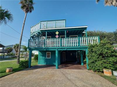 Port Aransas Single Family Home For Sale: 639 Lantana Dr