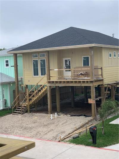 Port Aransas Single Family Home For Sale: 212 Nautilus