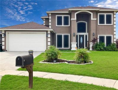 Corpus Christi Single Family Home For Sale: 4005 Wildfire Dr