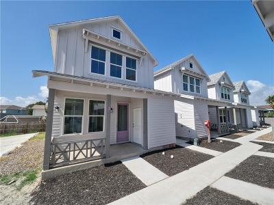Port Aransas Single Family Home For Sale: 315 Oleander #5