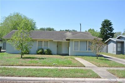 Corpus Christi TX Single Family Home For Sale: $135,000