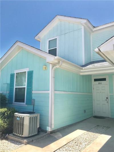 Corpus Christi Condo/Townhouse For Sale: 15111 Beach Country Dr