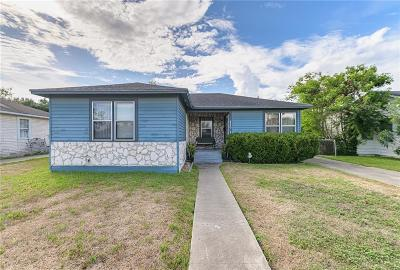 Corpus Christi TX Single Family Home For Sale: $129,999