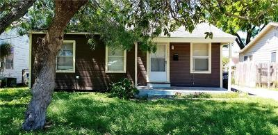 Corpus Christi TX Single Family Home For Sale: $65,000