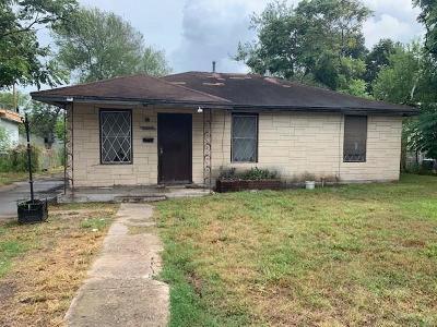 Corpus Christi TX Single Family Home For Sale: $89,900