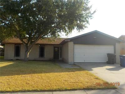 Corpus Christi TX Single Family Home For Sale: $106,000